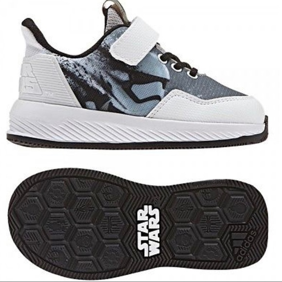 Star Wars Sneakers >> Adidas Kids Star Wars Stormtrooper Sneakers Nwt